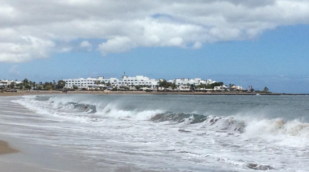 """Foto """"Playa Pocillos"""" de Fulvio Barudoni (CC BY) / Recortada de la original"""