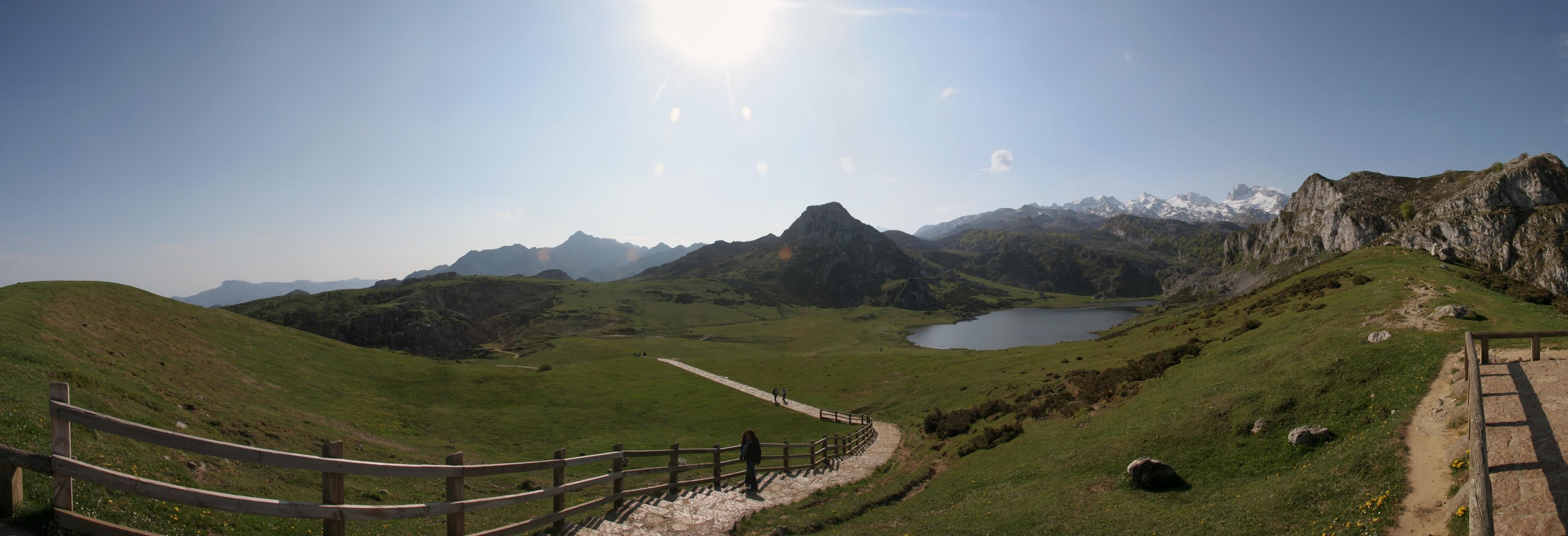 Cangas de Onís, Asturias, Spanien