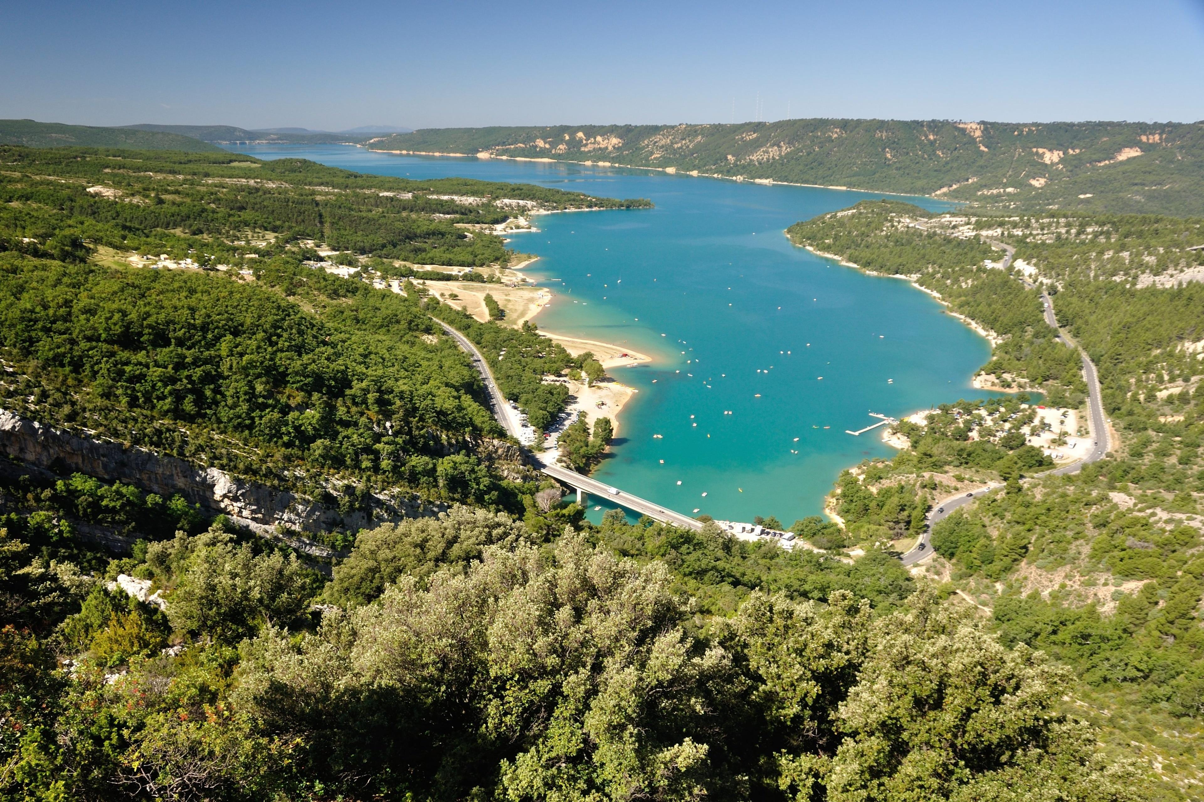 Lac de Sainte-Croix, Frankreich