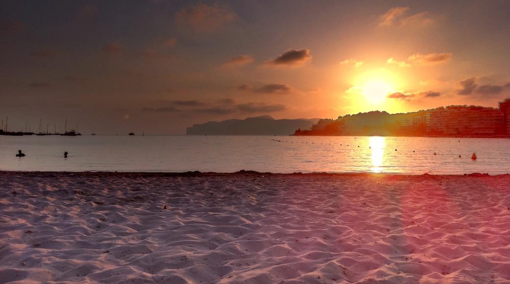 Foto 'Playa Santa Ponsa' van Tim Tim Timmeee (CC BY) / bijgesneden versie van origineel