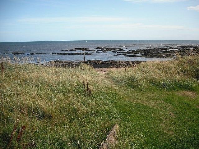 Westhaven Beach, Carnoustie, Scotland, United Kingdom