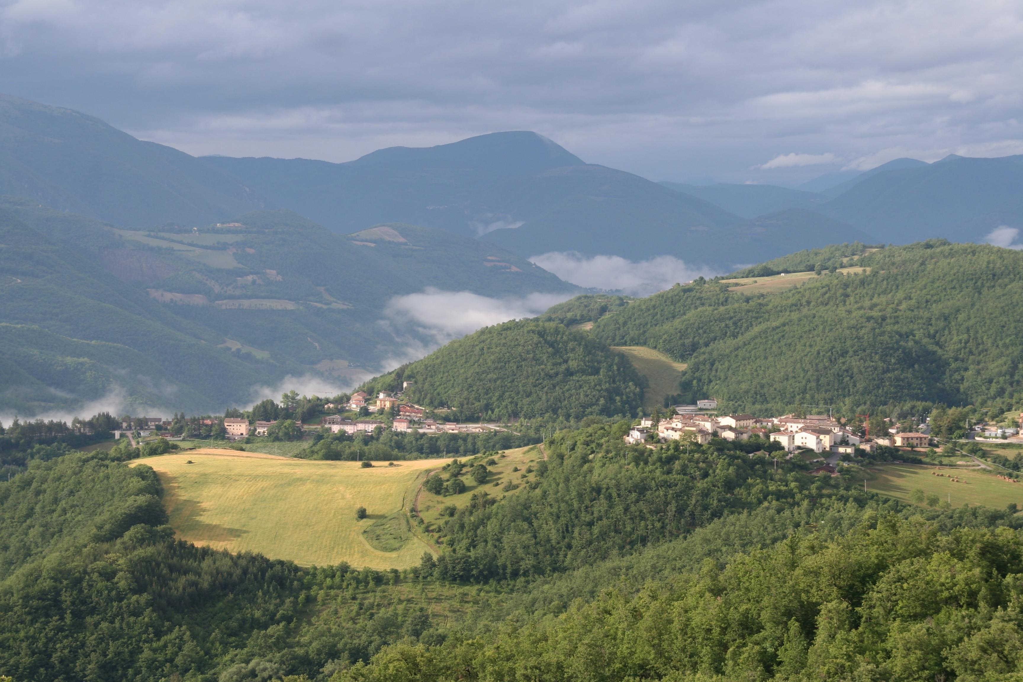 Sellano, Umbrien, Italien