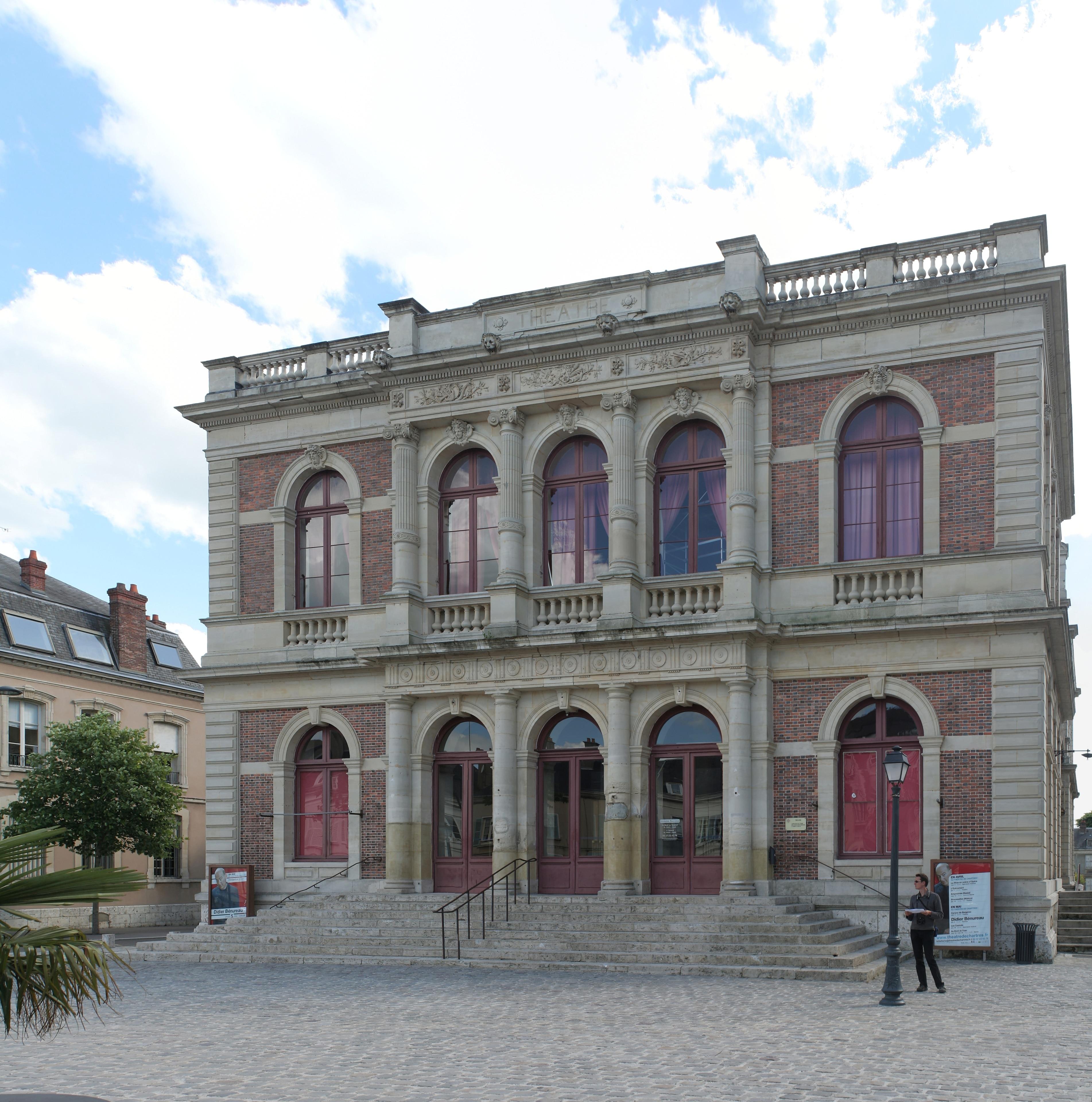 Municipal theatre of Chartres, Chartres, Eure-et-Loir, France