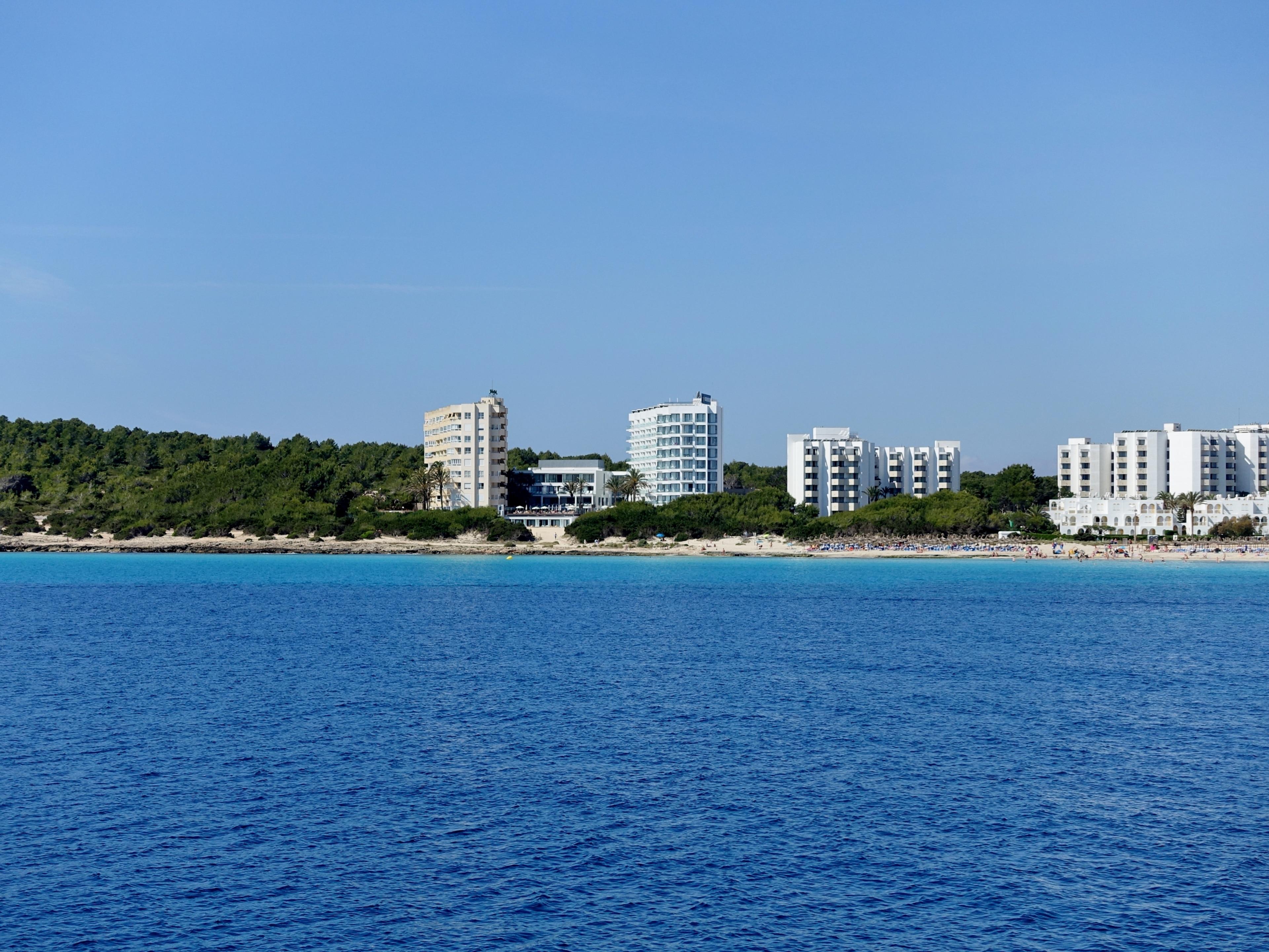 Cala Millor Beach, Sant Llorenc des Cardassar, Balearic Islands, Spain