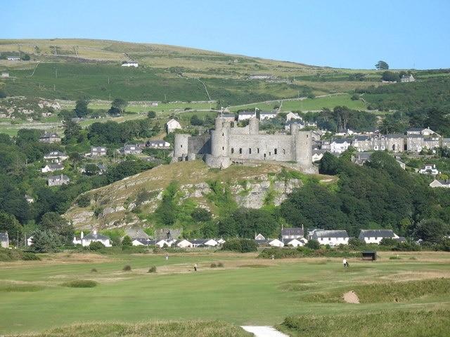 Harlech Castle, Harlech, Wales, United Kingdom