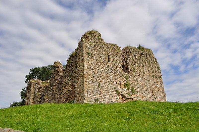 Thirlwall Castle, Brampton, England, United Kingdom