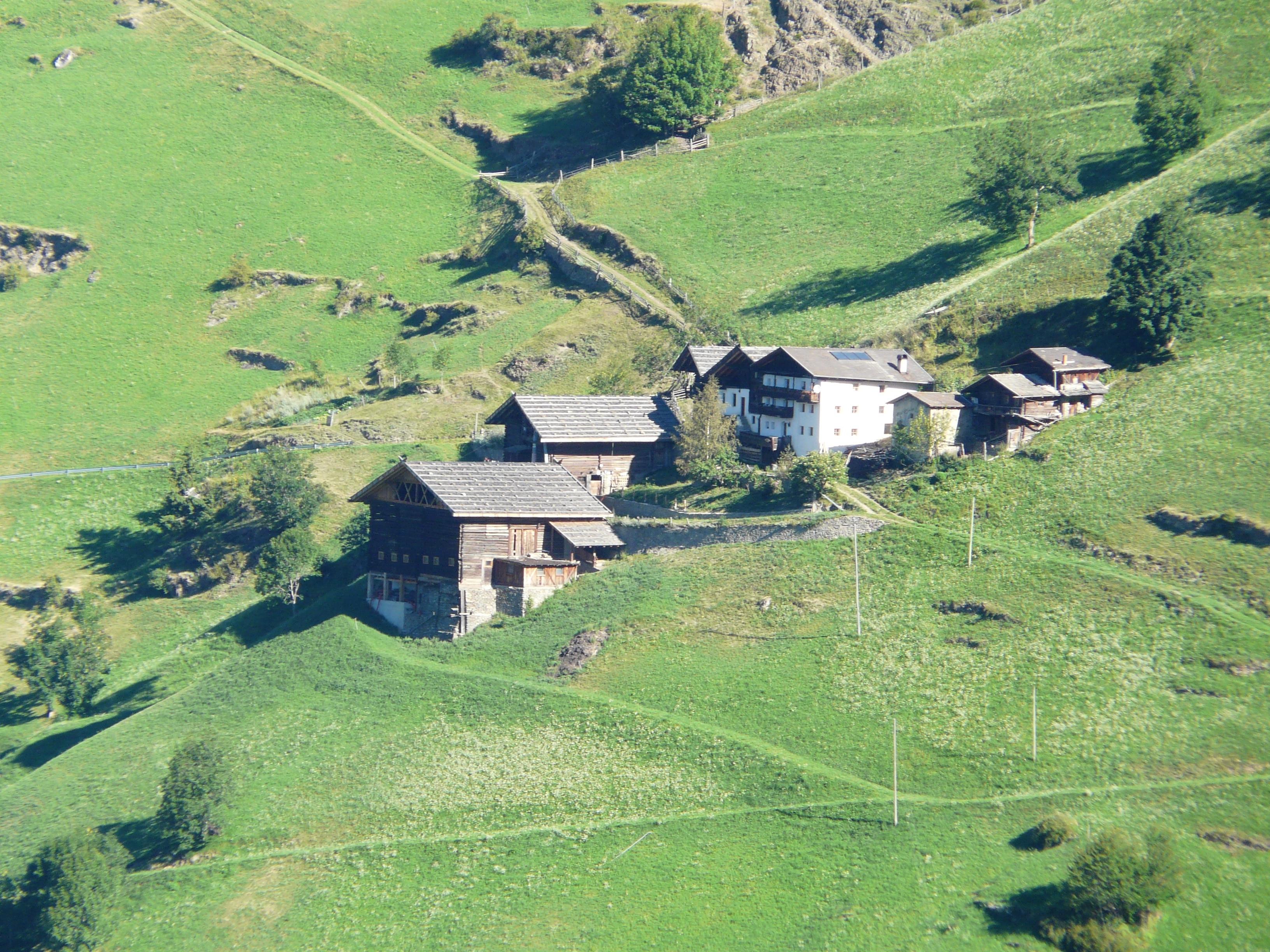 Val Senales, Senales, Trentino-Zuid-Tirol, Italië