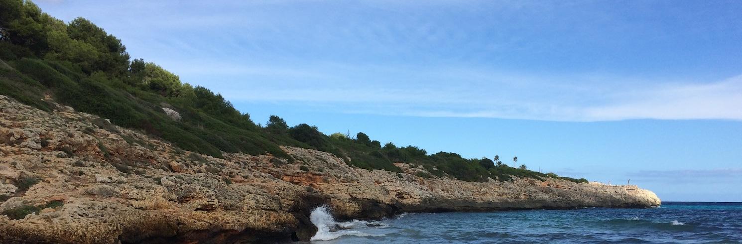 Cala Mandia, Spanien