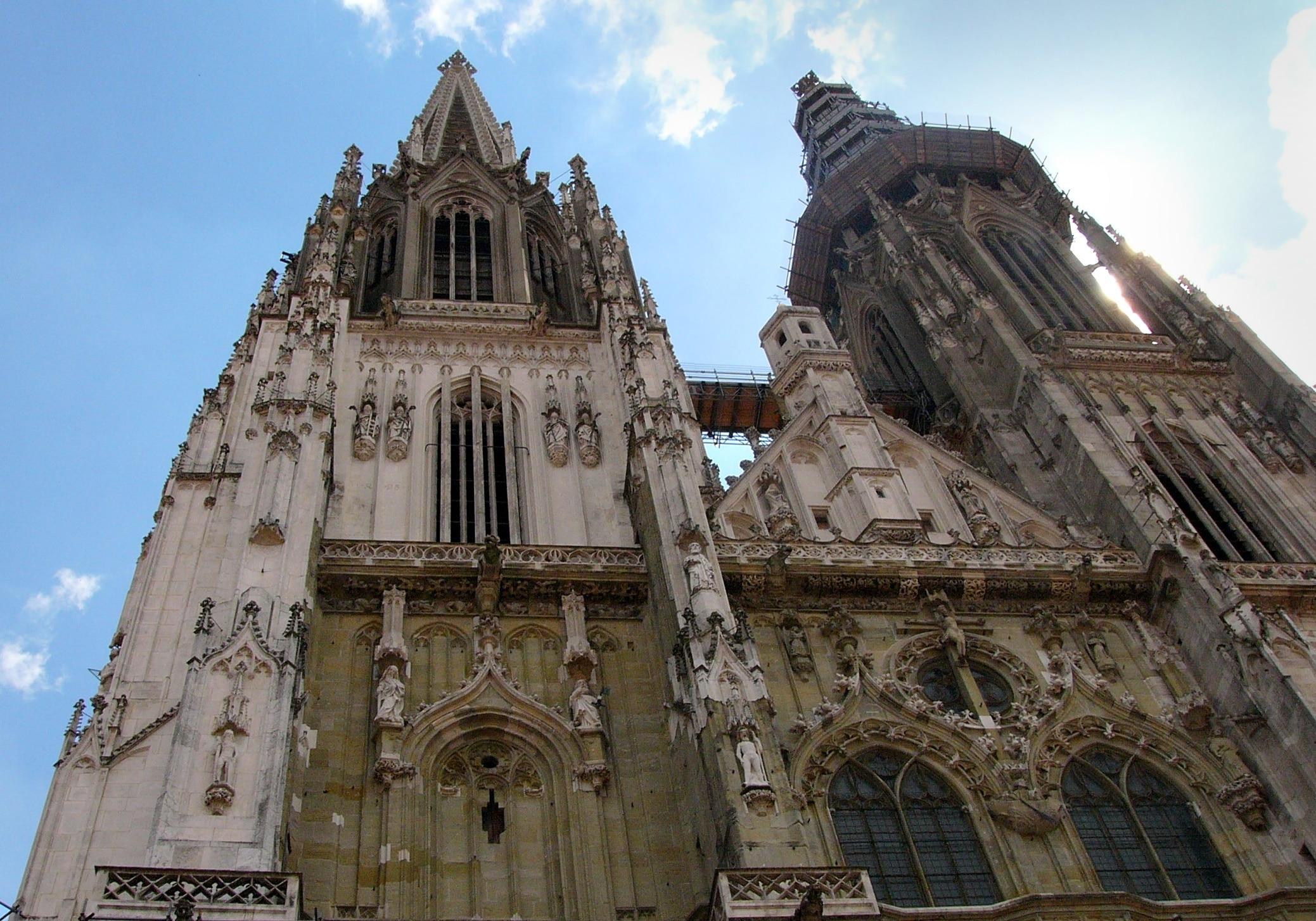 City Centre Regensburg, Regensburg, Bavaria, Germany