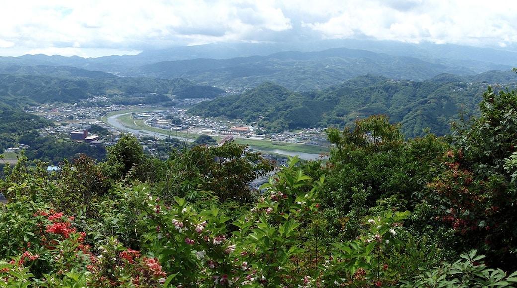 The East view of Mount Jō (Jō-yama) in Izunokuni, Shizuoka Prefecture, Honshu, Japan.
