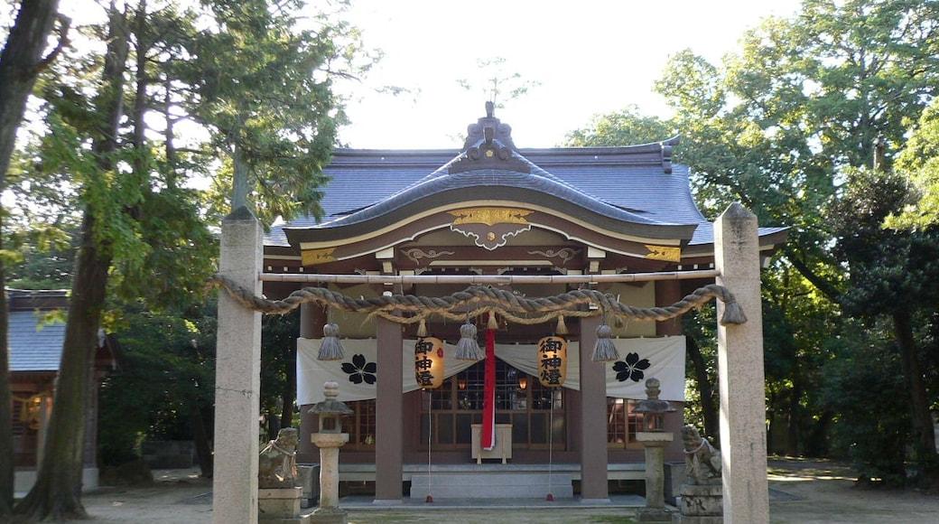 Kounoike Jinjya(Shrine) at Itami, Hyōgo in Japan.