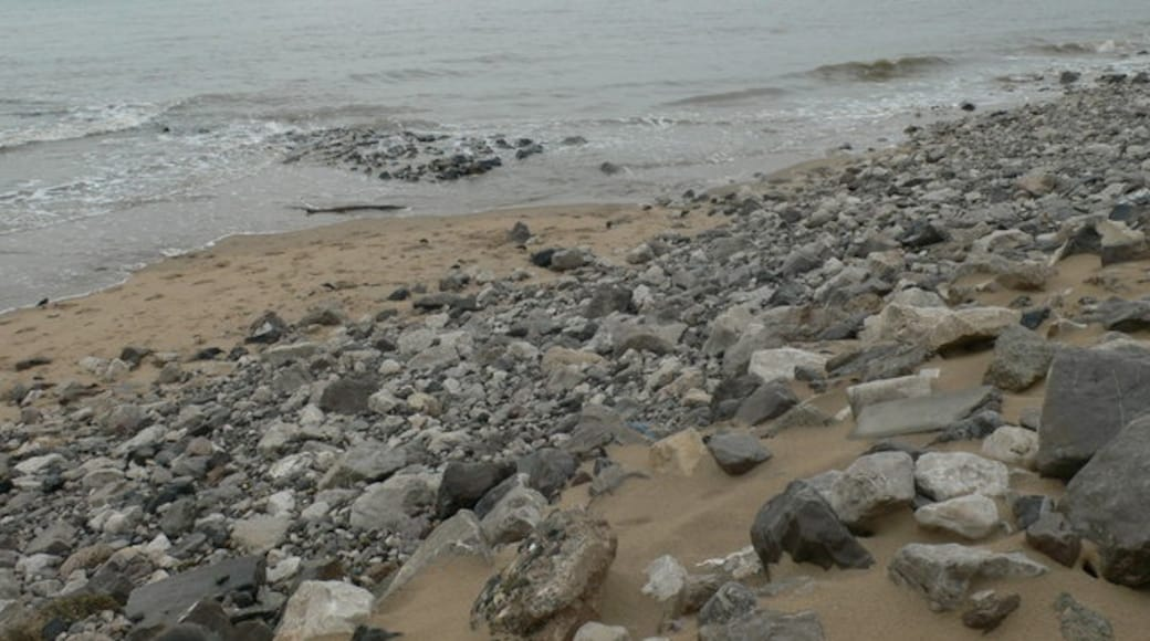 """Foto """"Prestatyn Beach"""" von Eirian Evans (CC BY-SA)/zugeschnittenes Original"""