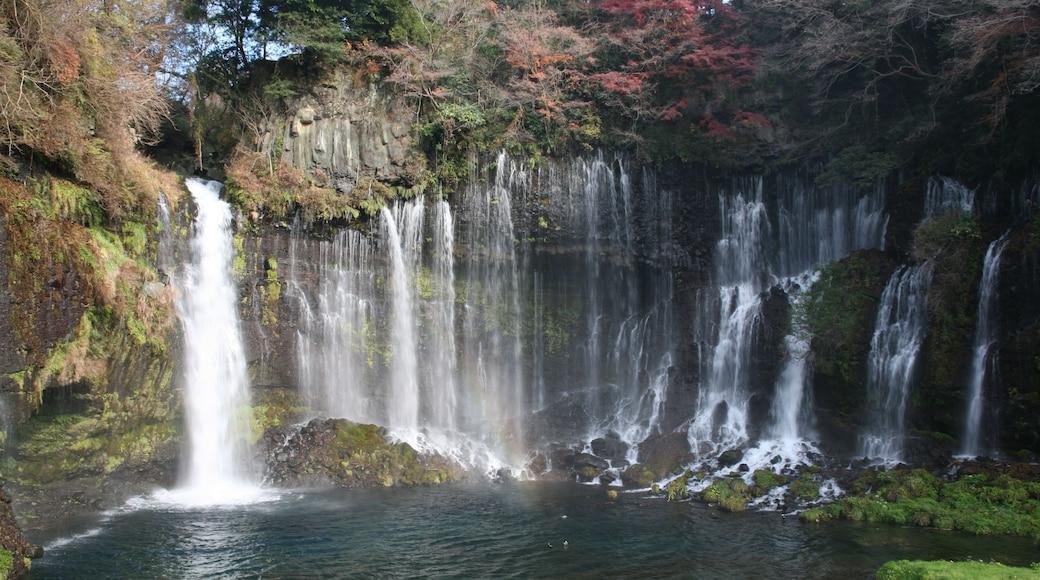 くろふね (CC BY) 的「白絲瀑布」相片 / 裁剪自原有相片