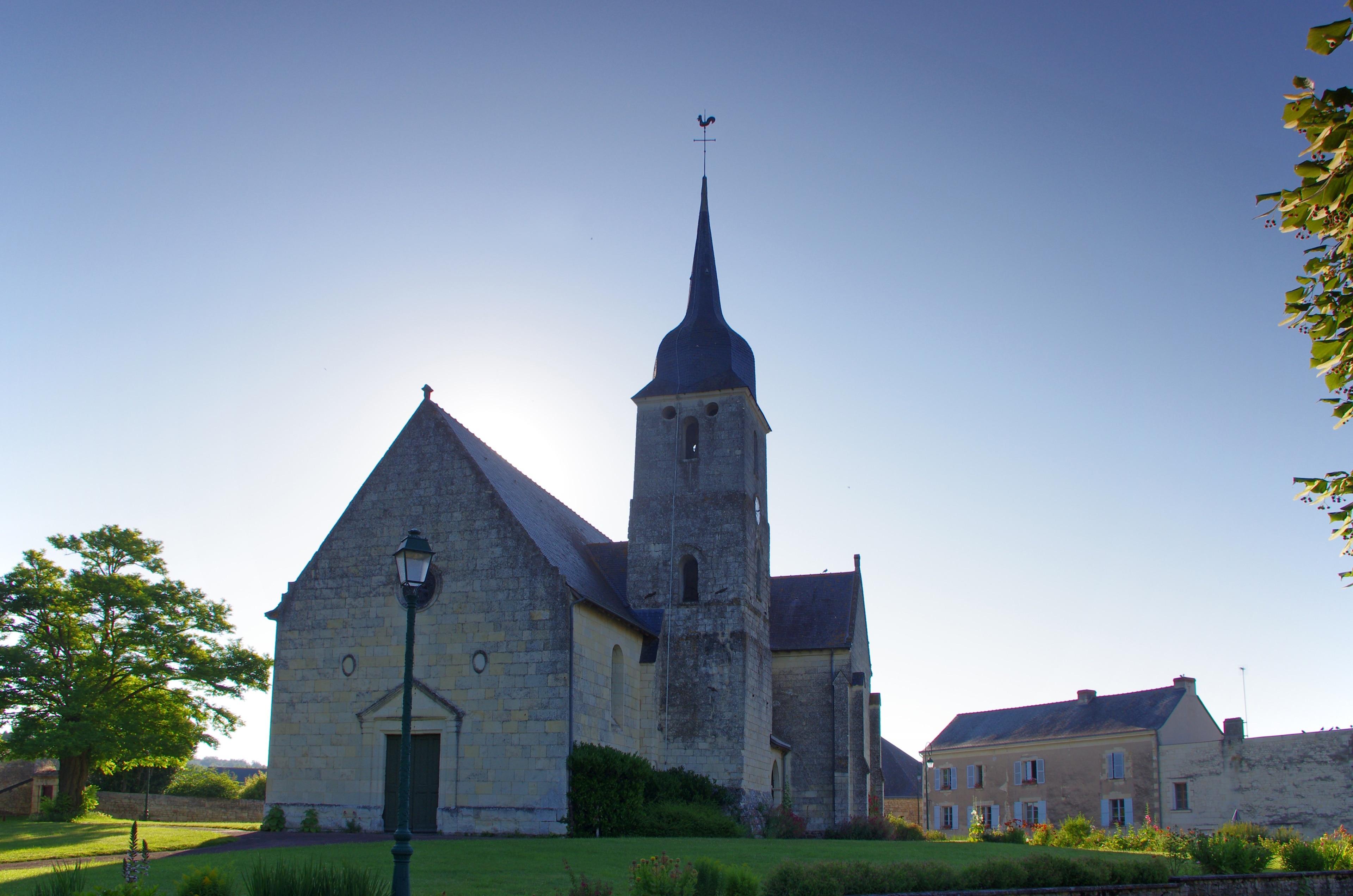 Tuffalun, Département Maine-et-Loire, Frankreich