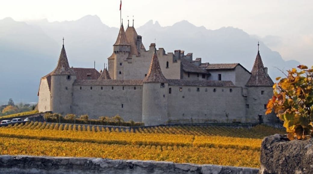 """Photo """"Aigle Castle"""" by Hbekker (CC BY-SA) / Cropped from original"""