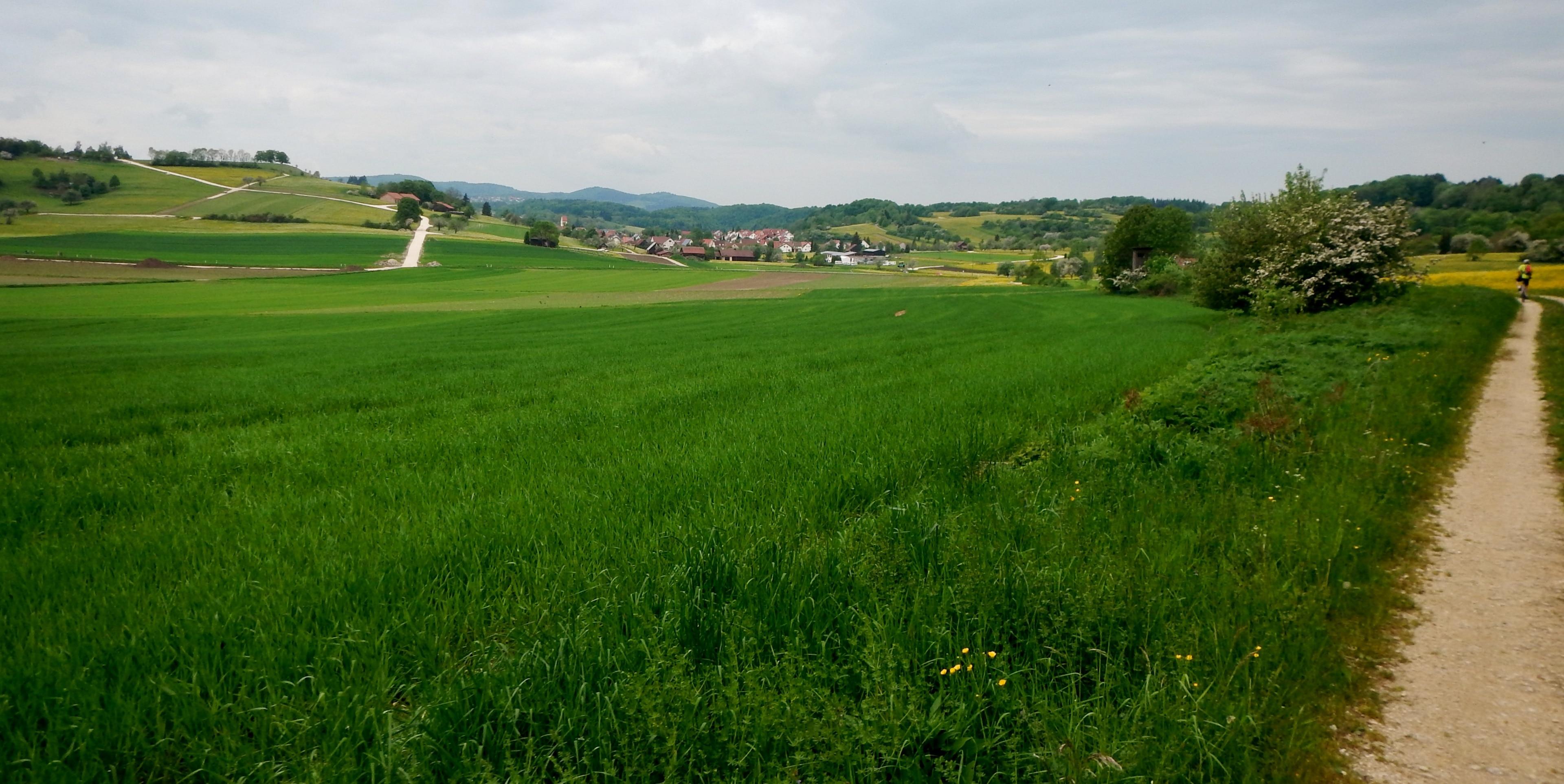 Münsingen, Baden-Württemberg, Deutschland