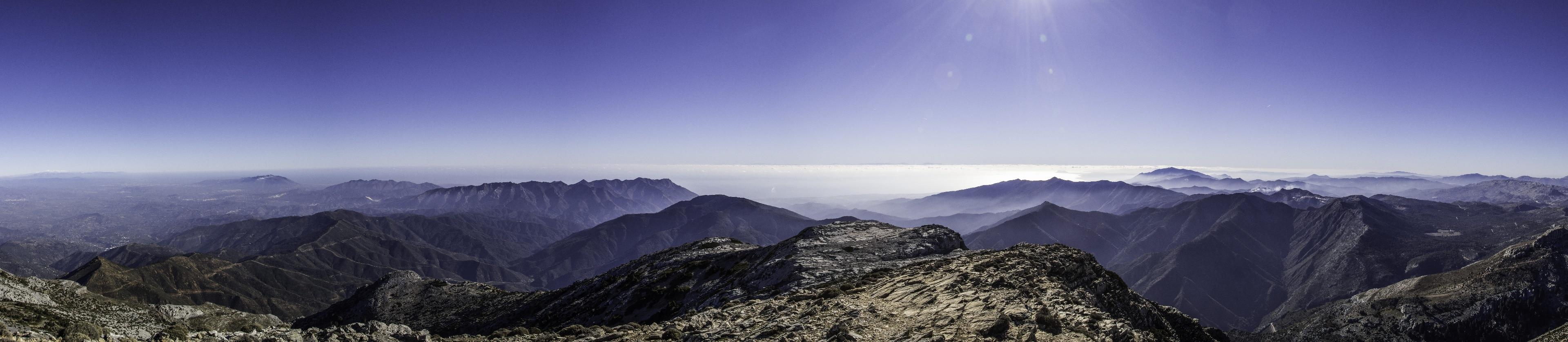 Sierra de las Nieves, Andalusië, Spanje