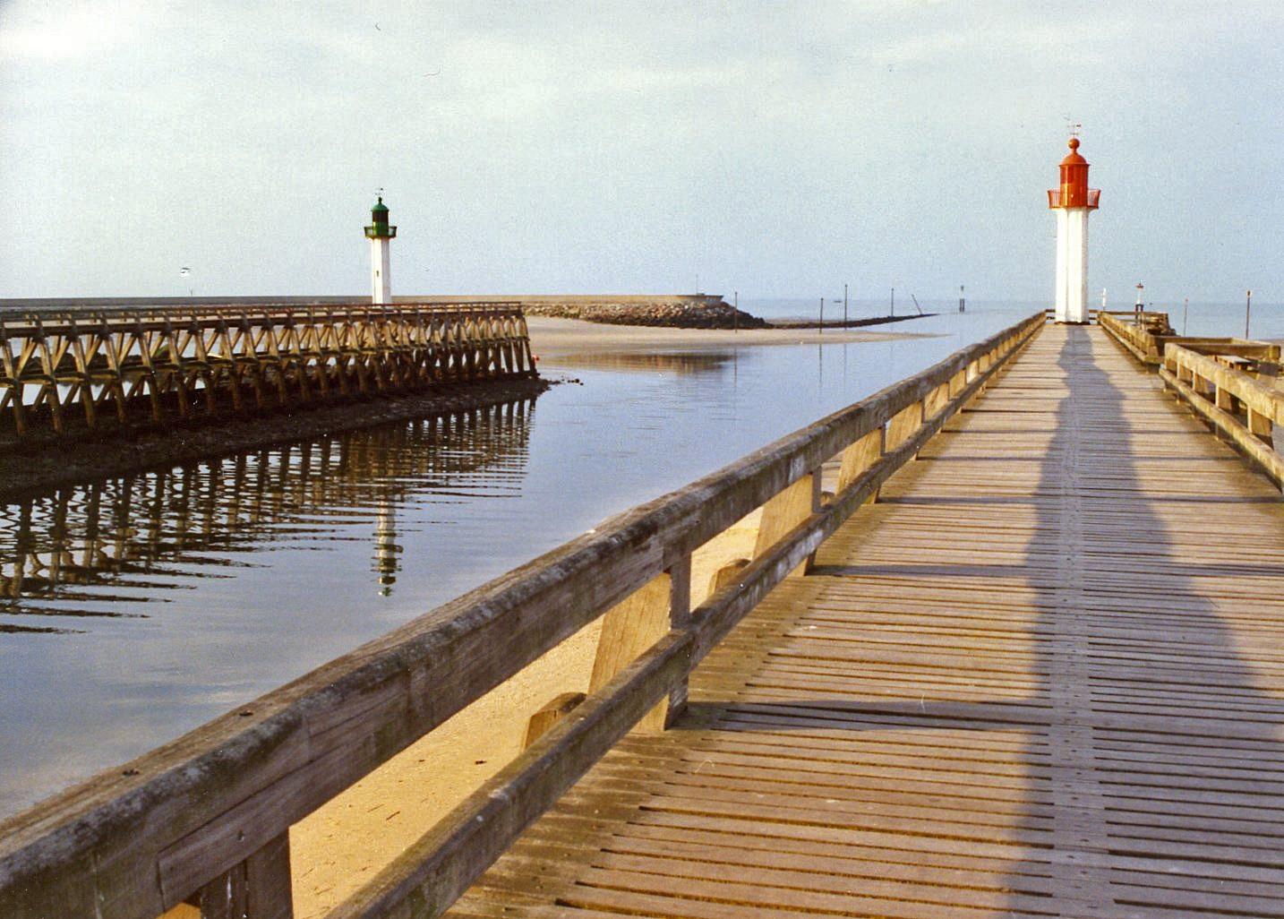Strand von Trouville, Trouville-sur-Mer, Calvados (Département), Frankreich