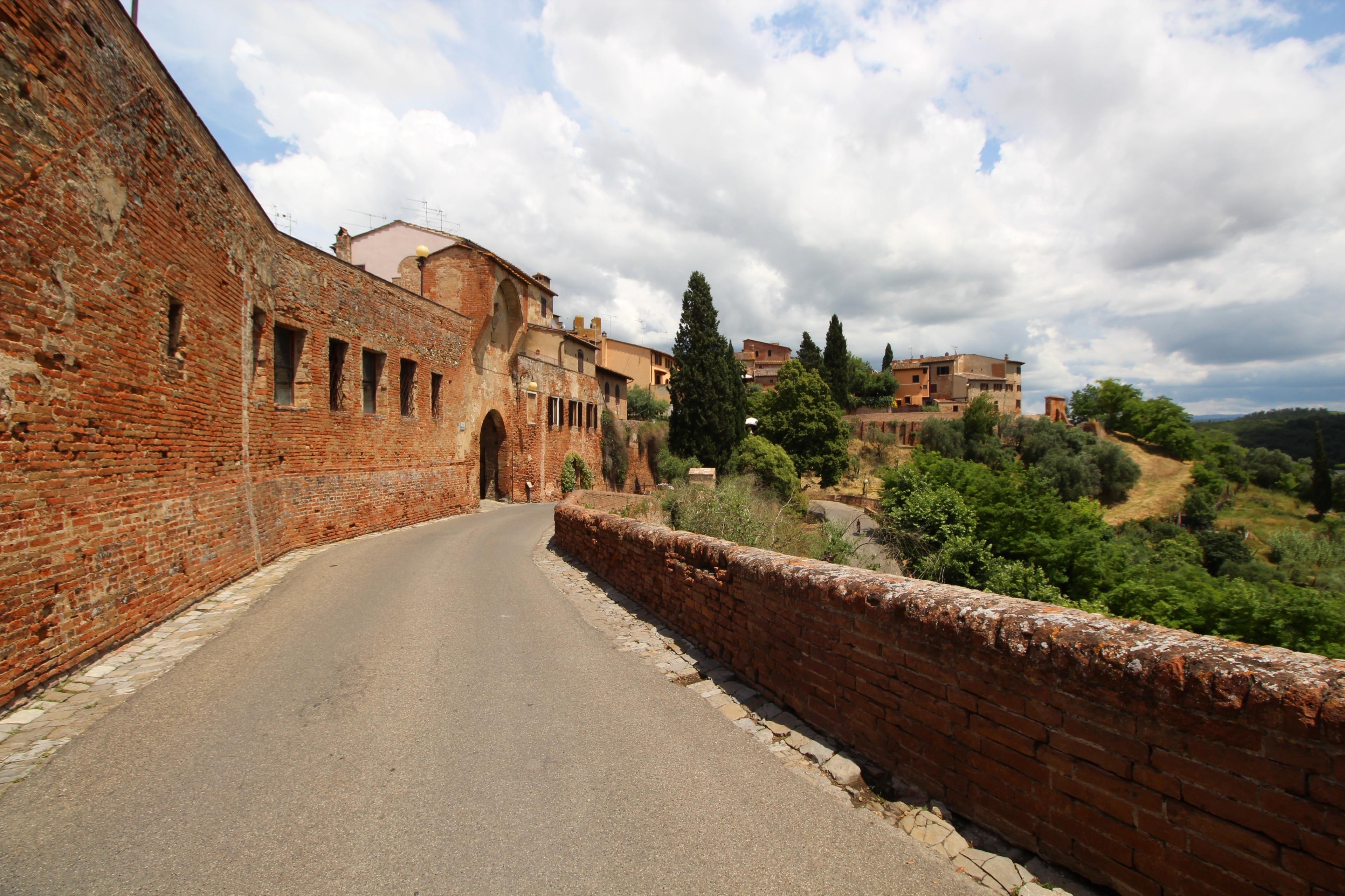 Certaldo Alto, Certaldo, Toskana, Italien