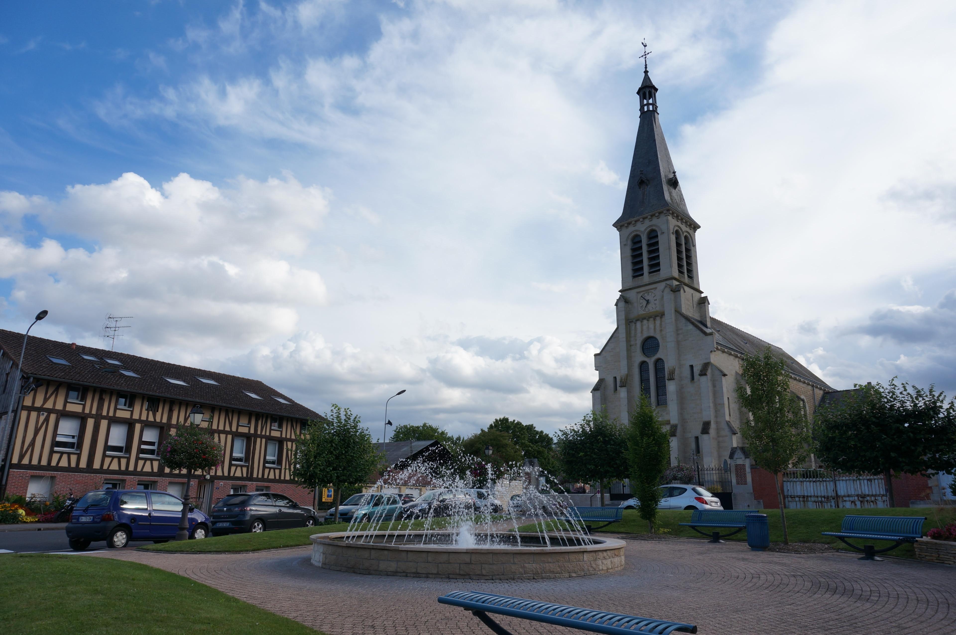 Saint-Martin-sur-le-Pré, Département Marne, Frankreich