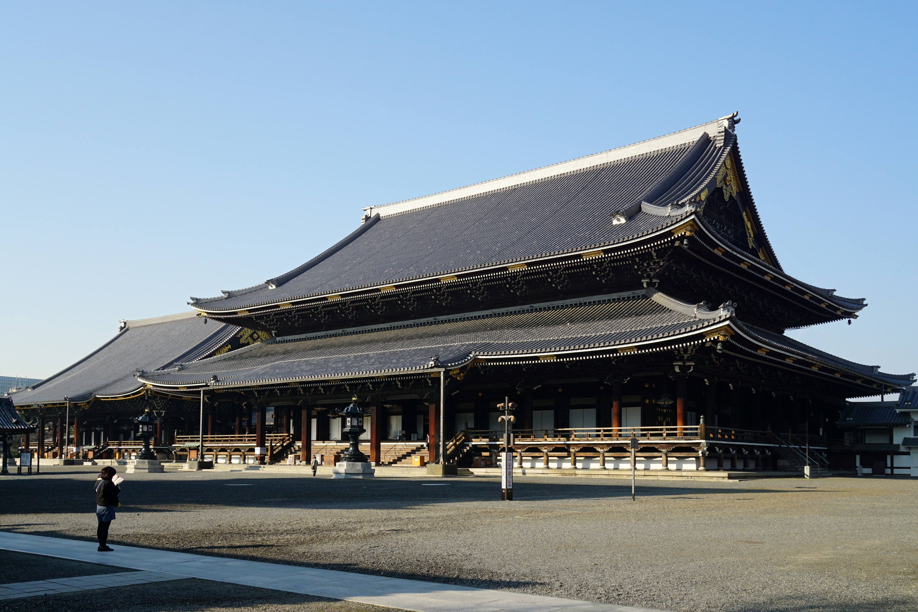 Higashi Honganji Temple, Kyoto, Kyoto Prefecture, Japan