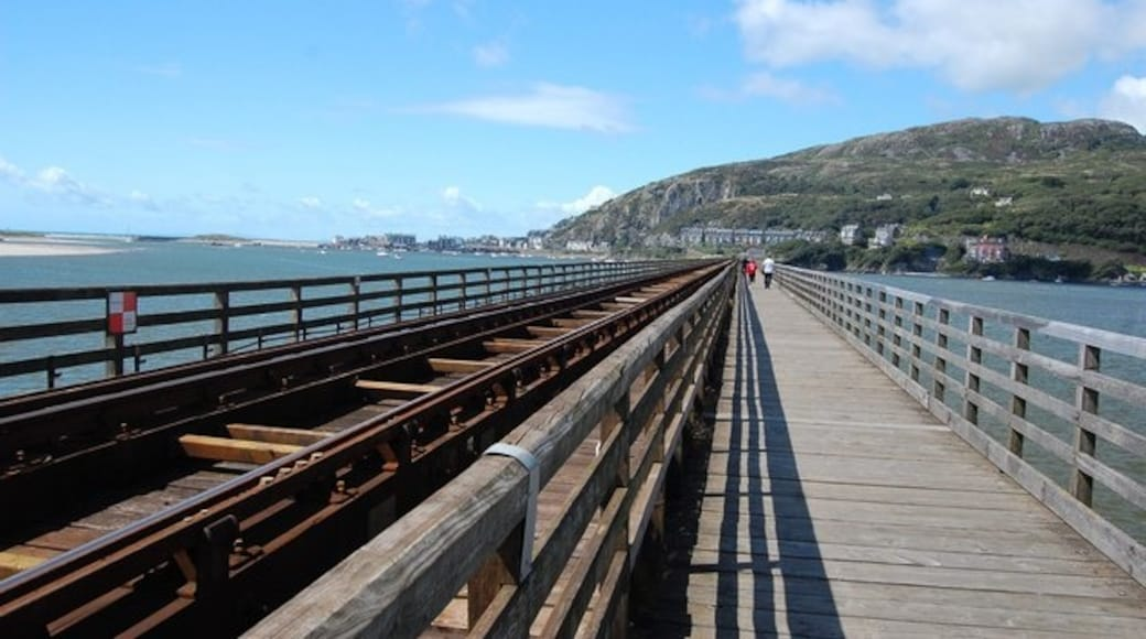 """Photo """"Barmouth Bridge"""" by Trevor Harris (CC BY-SA) / Cropped from original"""