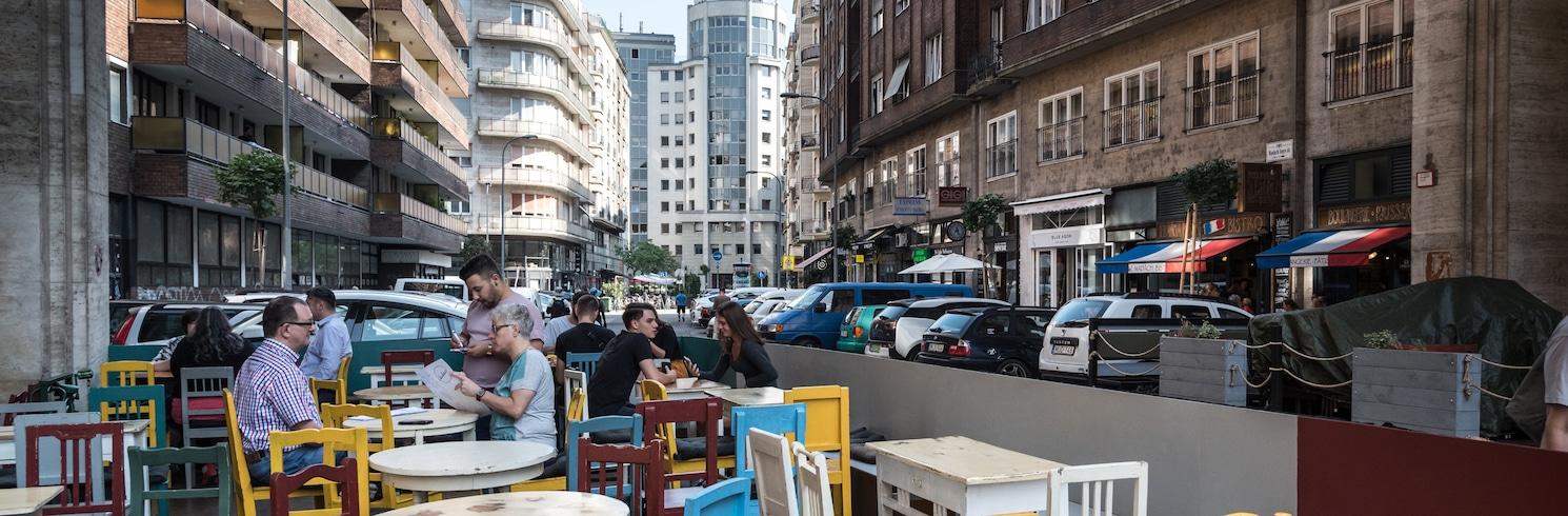 Centrum i Budapest, Ungarn
