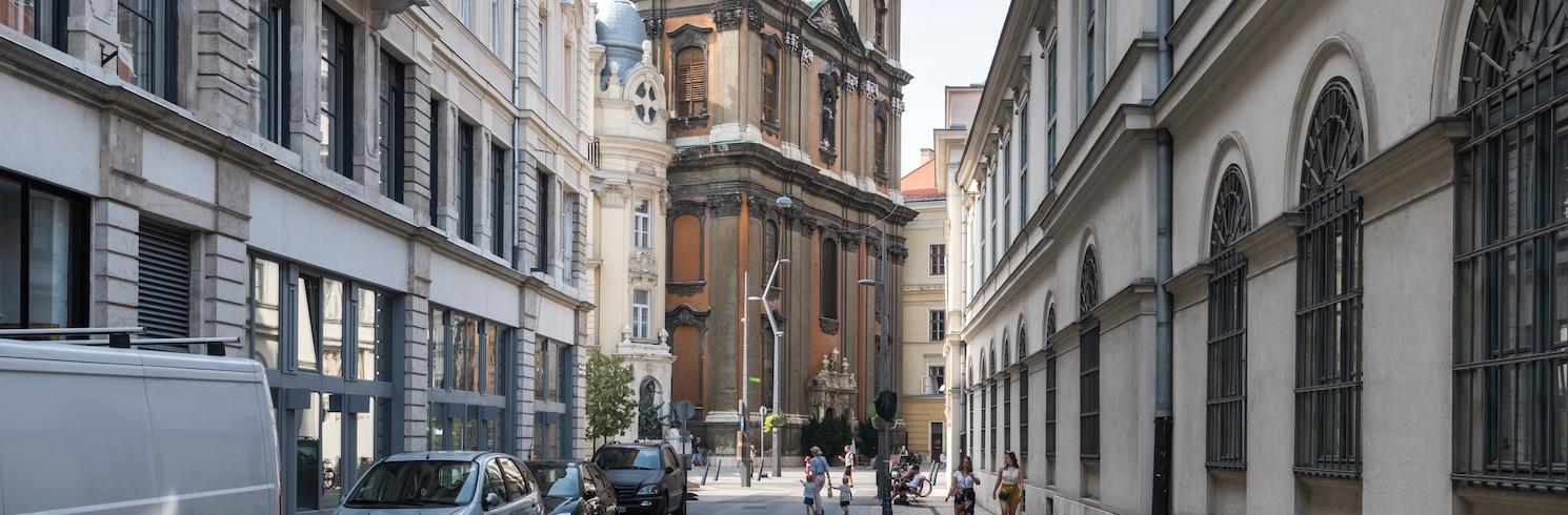het centrum, Hongarije