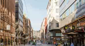 Centrum města Helsinky