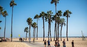 Santa Monica ströndin