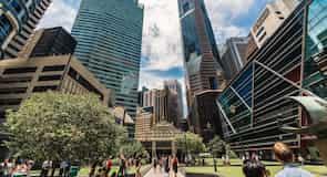 Distrito Financiero de Singapur