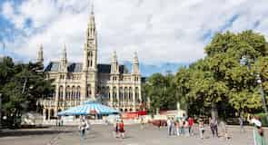 Området ved Wiens Rådhus