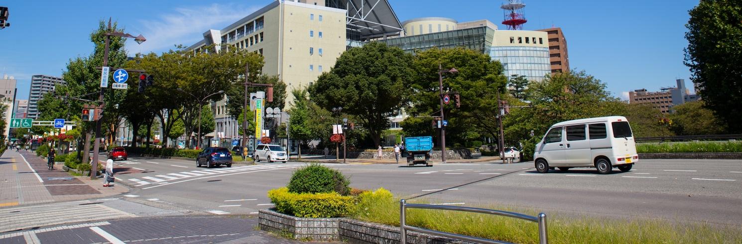 Toyama (and vicinity), Japan