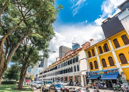 殖民區, 新加坡