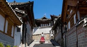 Bukchon Hanok falu