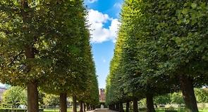 A Rosenborg-kastély kertje