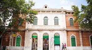 Ferrocarril de Sóller -juna-asema (Palma de Mallorca)