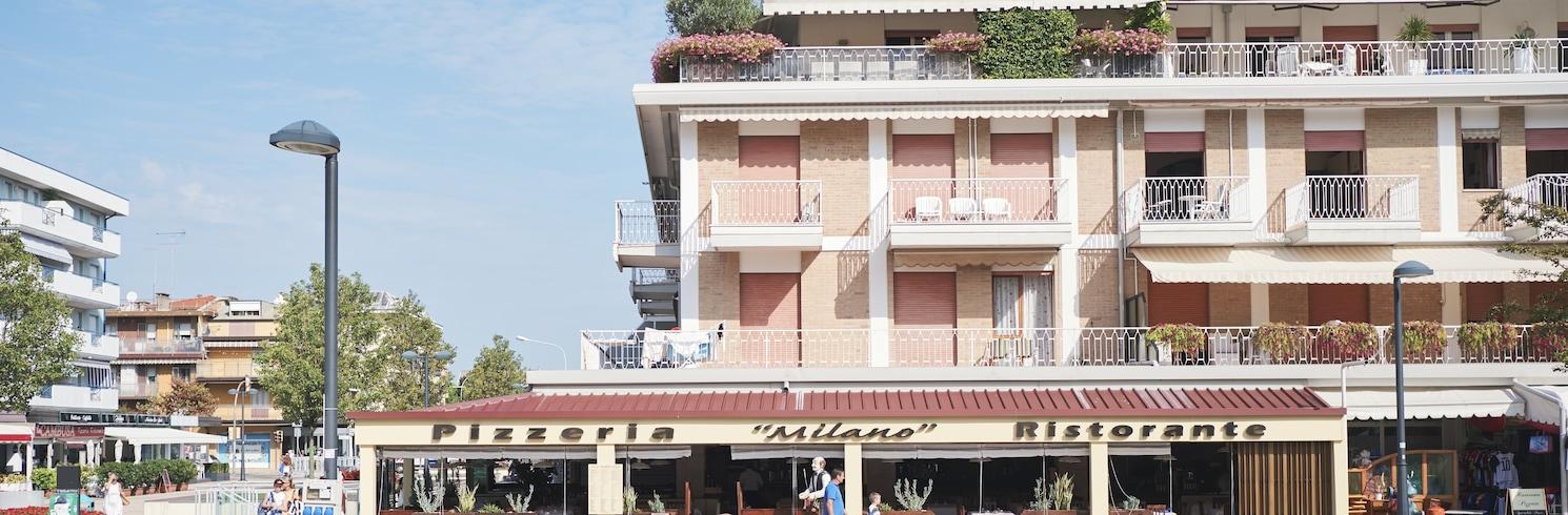 Lido di Jesolon ranta, Italia