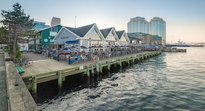 Halifax Waterfront Boardwalk (promenade du bord de mer)