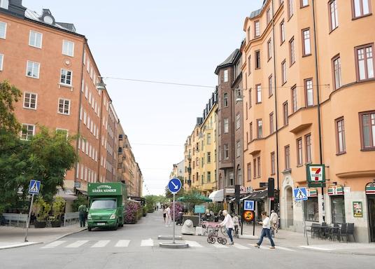 Tukholman keskusta, Ruotsi