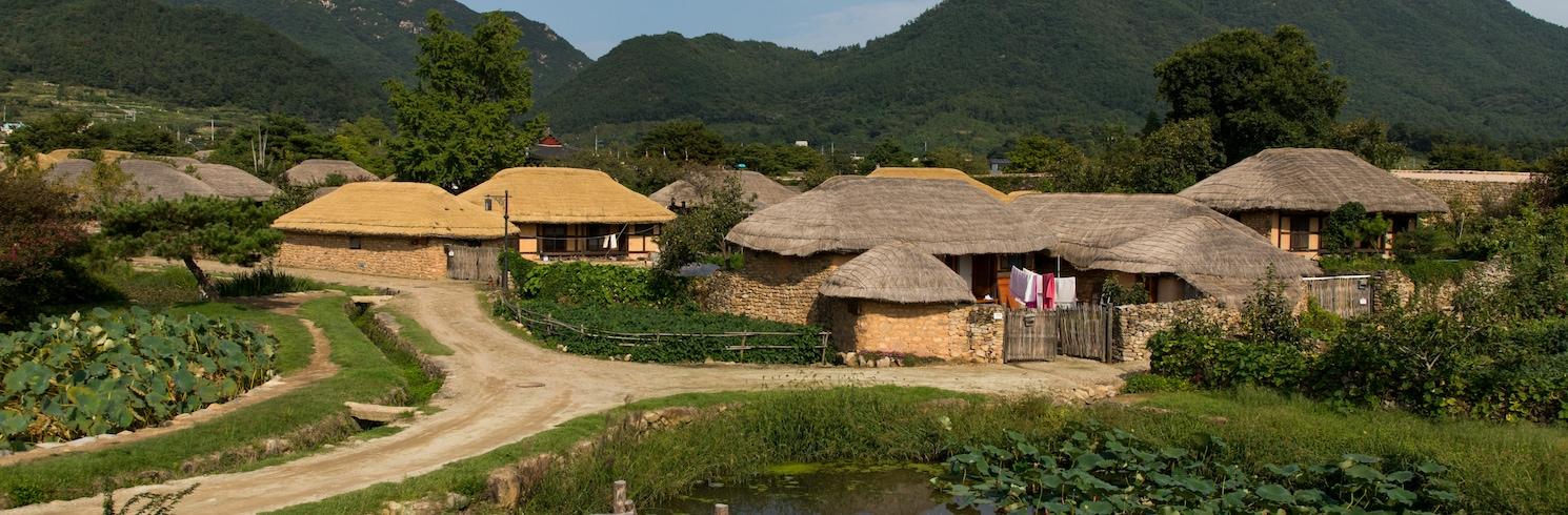 南內里, 韓國