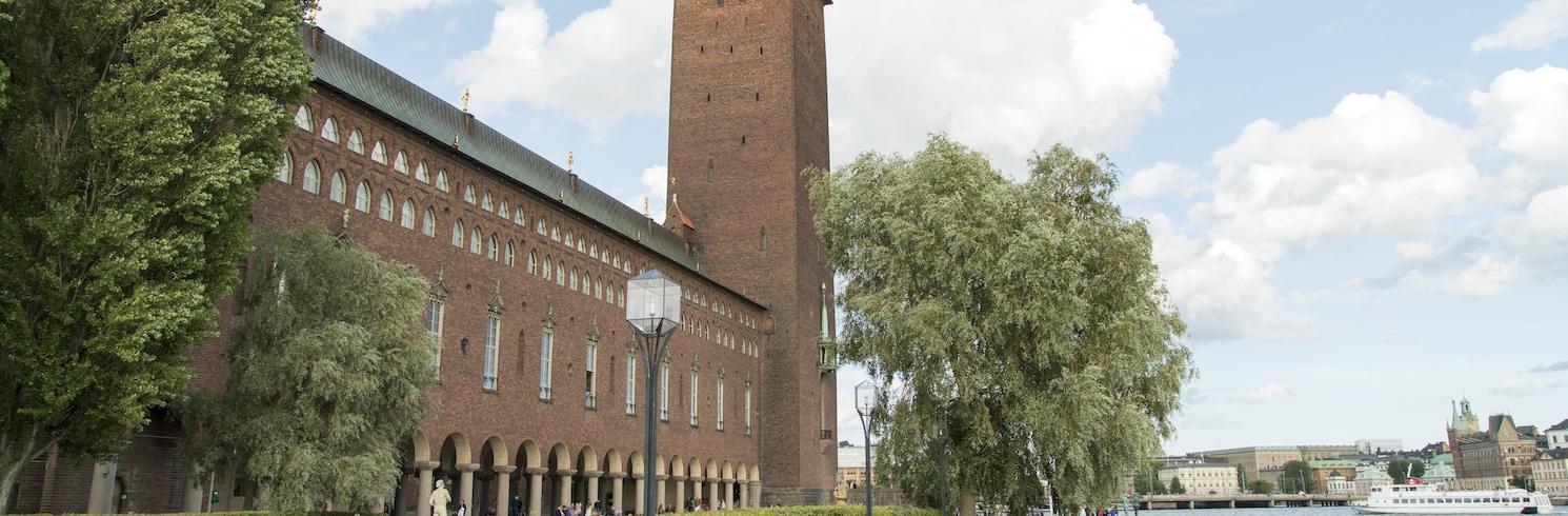 Centrala Stockholm, Sverige