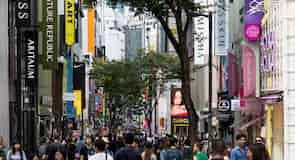 Calle comercial Myeongdong