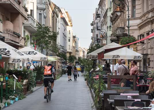 Centrum Budapesztu, Węgry