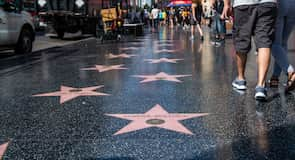 Hollywood Walk of Fame gangstéttin