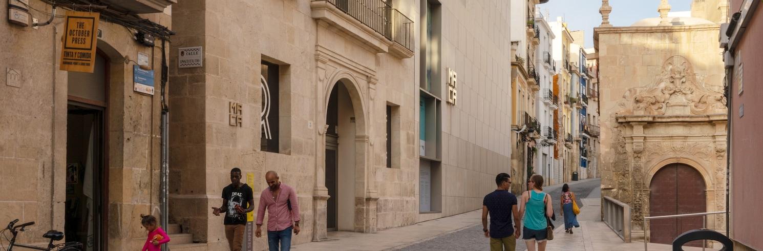 Barri Vell - Santa Creu negyed, Spanyolország