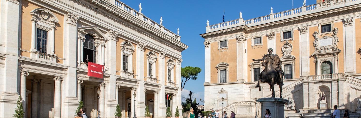 Colina Palatina, Italia