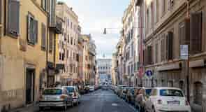 Rooman kaupungin keskusta