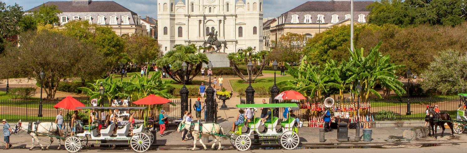 Vieux Carre District, Louisiane, États-Unis d'Amérique