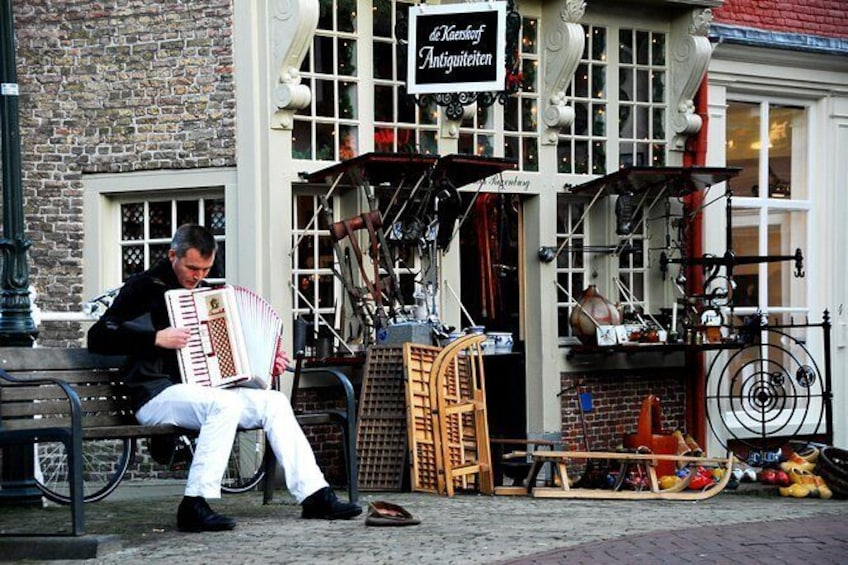 Walkingtour Delft - the city of orange and blue